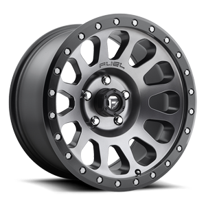 C VECTOR 17x9 MATTE ANTHRACITE BLK RING A1 3001