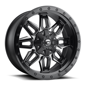 NUETRON 20X9 BLK AND MILLED A1 3001