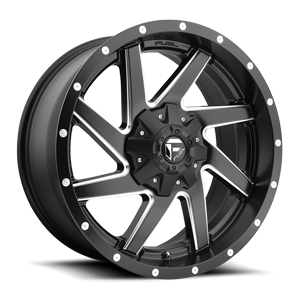 RENEGADE 20x9 BLK AND MILLED A1 3001