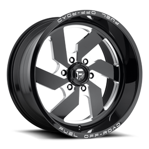 Turbo 20x10 BLK AND Milled 6Lug A1 3001