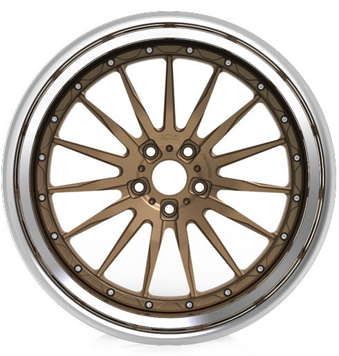 adv15 track function aftermarket 3 piece forged racing wheels