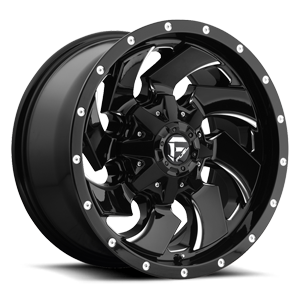 Cleaver 18x9  12mm Gloss BLK Milled A1 300